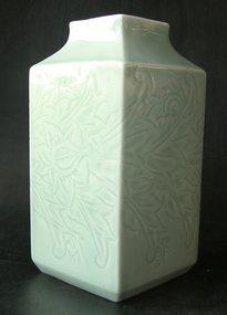 Excellent celadon vase, Late Qing