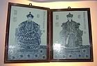 Qianlong  Emporar and Empress portraits, Early 1900
