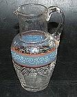 Swedish glass cream jug, around 1800