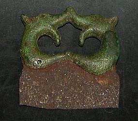 Early Viking/Vendel Fire steel,  300 - 700 AD